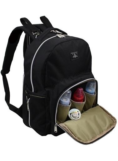 Stylo Duo Backpack For Mothers Bebek Bakım Sırt Çantası Siyah